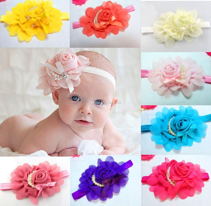 Buy Colorful and stylish #babyheadbands only at http://www.babycouture.in/