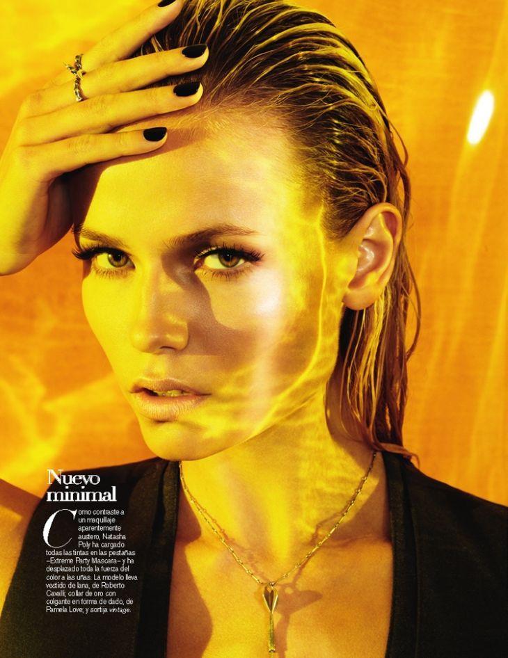Natasha Poly for Vogue Spain November 2011 by Maciek Kobielski