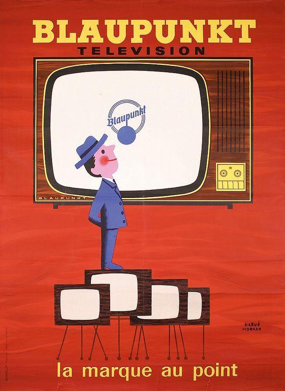 Blaupunkt Télévision, la marque au point - 1955 - (Hervé Morvan)