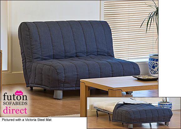 Flexsteel Sofa Roma Seat Futon Sofa Bed and Cover The Roma is made up of three sections