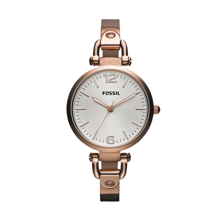 Fossil Georgia Stainless Steel Watch - Rose