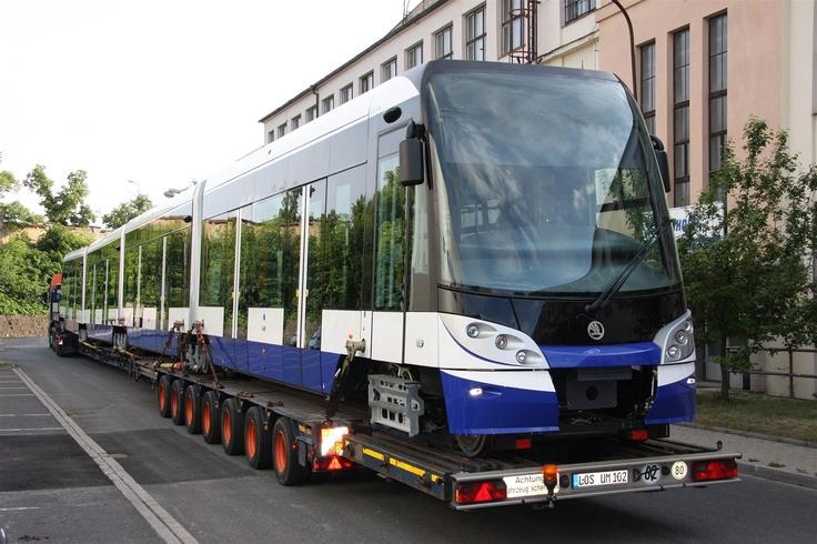 Superlong Skoda 15T for Riga