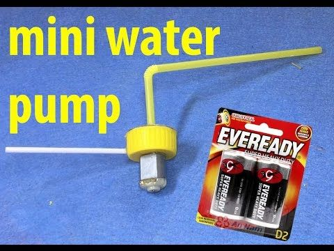 How to make High Power Mini Water Pump at home - YouTube | water