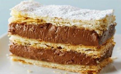 Ναπολεόν σοκολάτας -Ενα διαφορετικό γλυκό!
