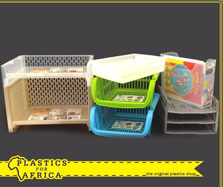 Stay #organised with these file organisers and A4 tray systems, available from #PlasticsforAfrica. Visit your nearest branch today!