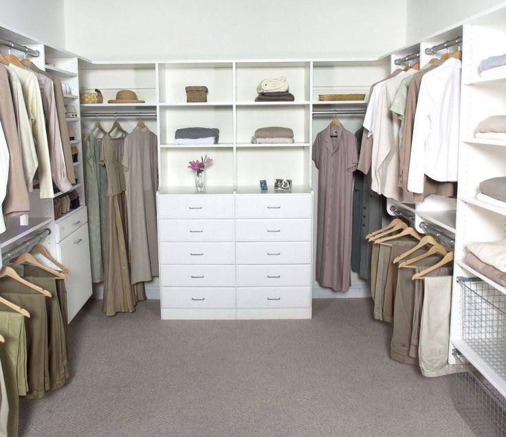 25+ best Closet layout ideas on Pinterest | Master closet ...