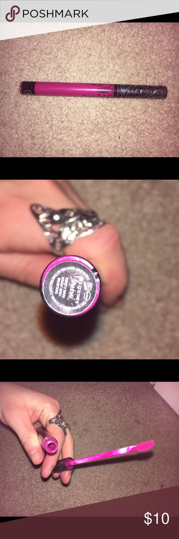 KVD Bauhaus Liquid Lip This color is a really pretty, honestly perfect pink. I haven't worn it in ages, there's definitely a lot of product left! It is authentic, any questions feel free to ask! Kat Von D Makeup Lipstick