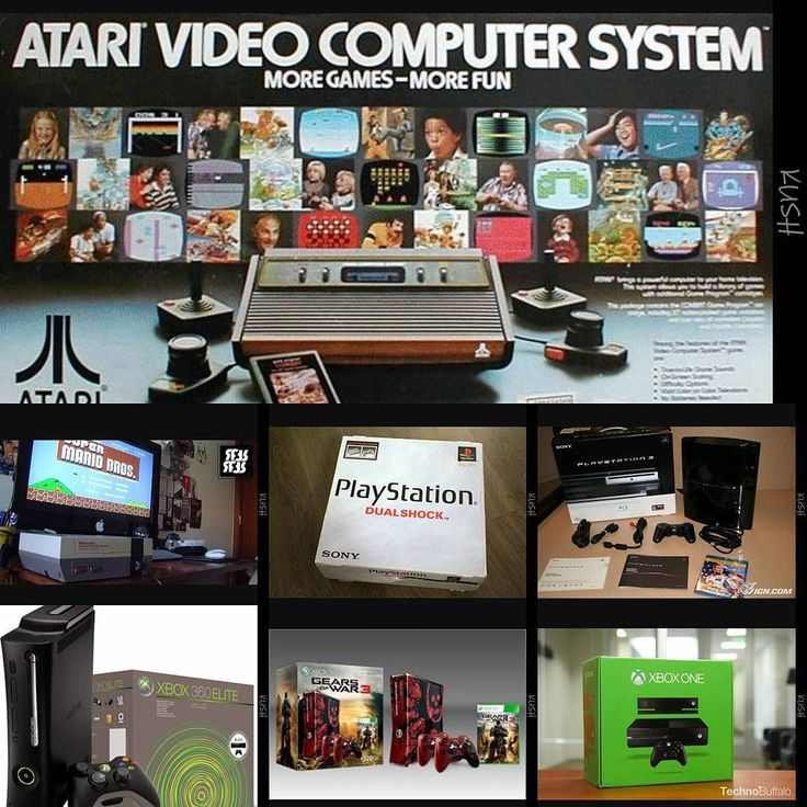 Shared by xxmaxx380xx #atari2600 #microhobbit (o) http://ift.tt/2ePjzbS personal evolution of Gaming #startedyoung#Nes#Ps1#Ps3#Xbox360#gearsofwar#Xboxone