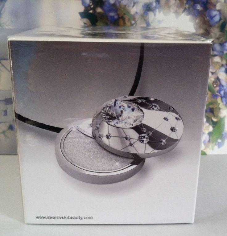 Authentic SWAROVSKI  Silver Tone Highlighter Pendant on Black Cord  Awesome Gift #Swarovski #Pendant