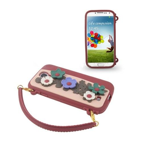 Flower Purse (Red) Samsung Galaxy S4 Cover