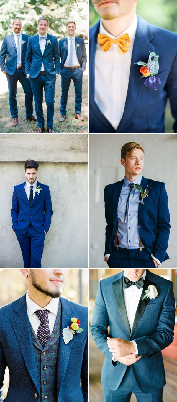 No longer is it all about a black rented suit! Yes, the wedding day can be a stylish statement for the grooms too! In fact, modern grooms are experimenting even more than brides with color. If you are a stylish groom looking for something unique to show your personality and taste, pick a colored suit …