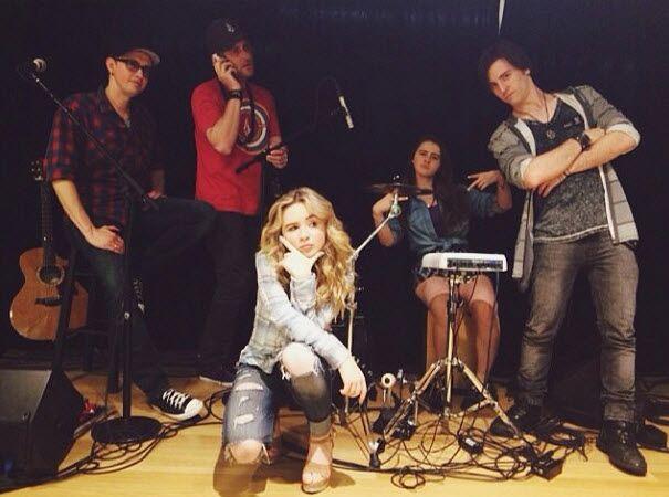 Video: Sabrina Carpenter Singing With Her Band April 22, 2014