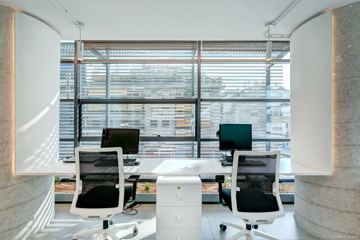 Millward Brown Offices in Athens - Open plan space