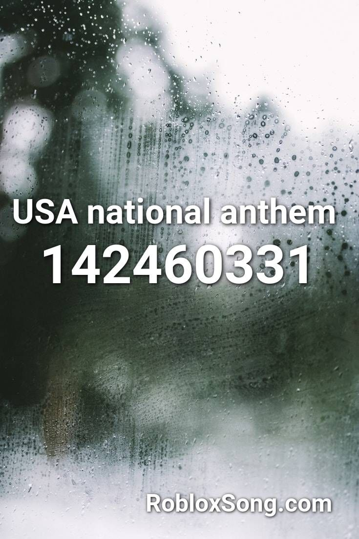 This Is America Id For Roblox Usa National Anthem Roblox Id Roblox Music Codes In 2020 Roblox Coding Roblox Memes