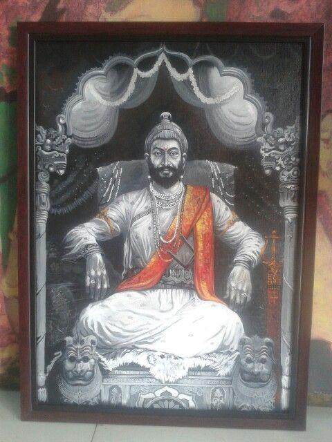 Shivaji Maharaj Acrylic on canvas