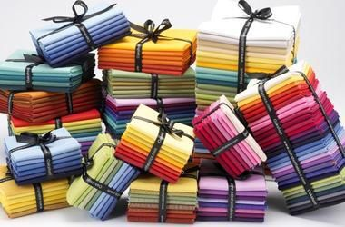 Oakshott offers iridescent shot cottons in glorious palettes of colour to quilters & textile artists the world over who rely on high quality & sumptuous ranges.