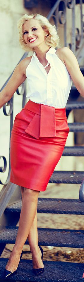 black or red  like this skirt