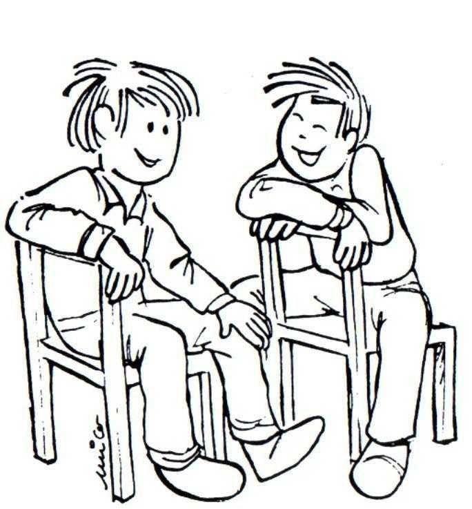 La Amistad Dibujos Para Colorear Chistes Cristianos Imagenes De Amistad Chistes