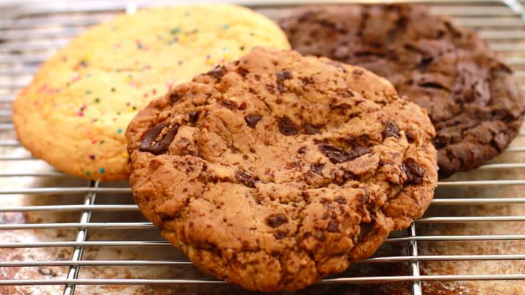 GIANT Single-Serving Cookies: 3 Different Flavors! - Gemma's Bigger Bolder Baking