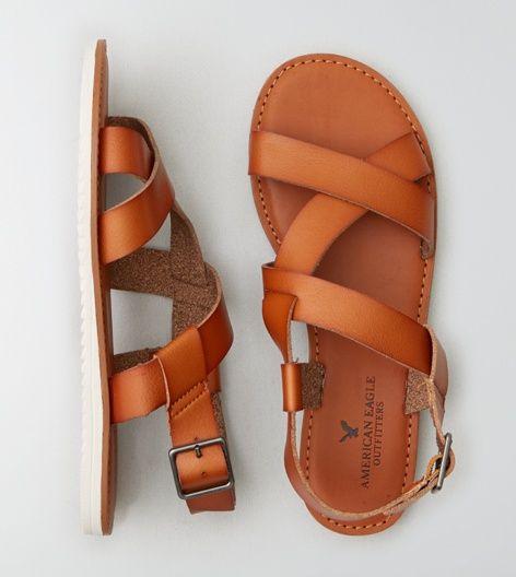 $29 Tan AEO Slingback Sandal