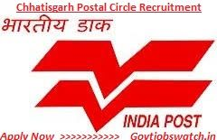 Apply now Chattisgarh Postal Circle Recruitment 2017, CG Post Office 123 GDS Vacancy - Online Application Form - appost.in, CG Post Office Jobs 2017