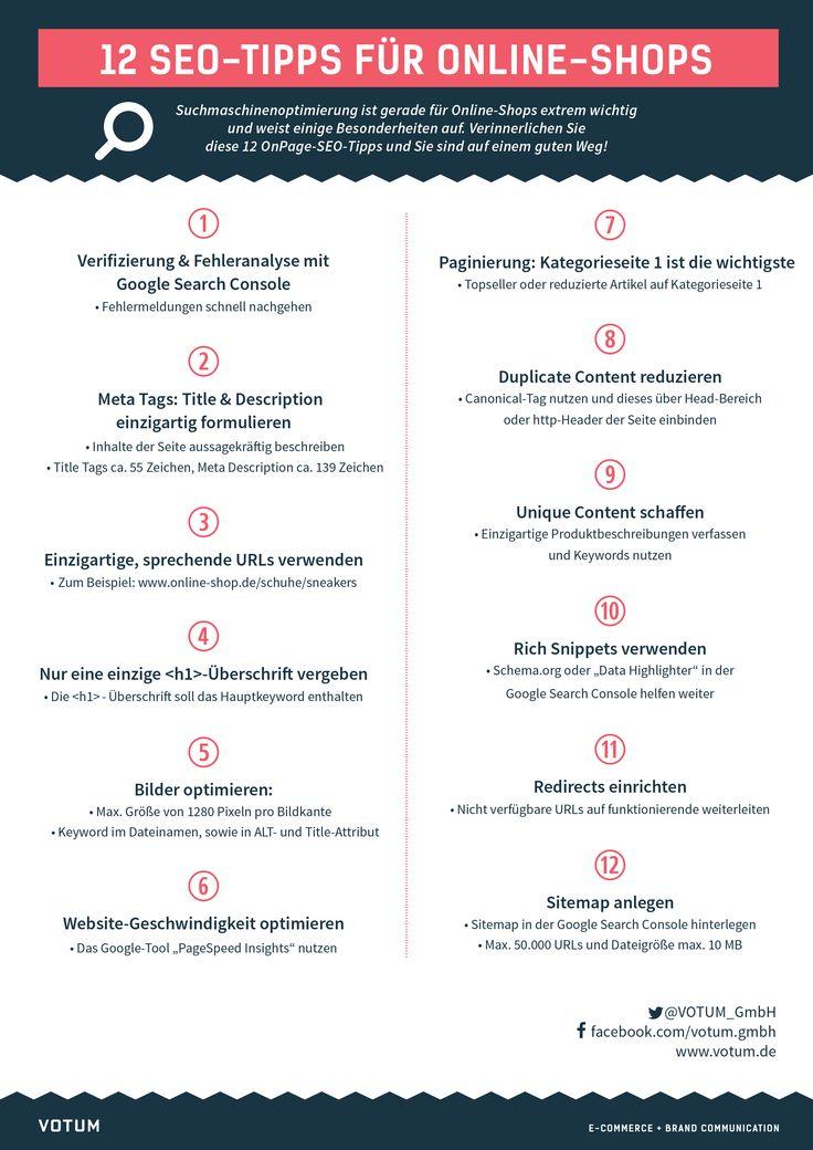 SEO Checkliste: Tipps für Online-Shops