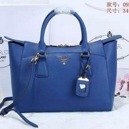 fe5e61d5bdc6 ... grained calf leather tote bn2324 royalblueprada bags ukprada wallet  cheapbiggest discount df6d6 00850; spain prada grainy leather tote bag  bn0920 blue ...