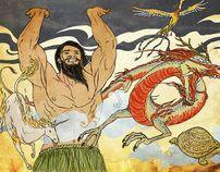 Pan Gu, vencedor del Caos (Mitos y Leyendas 8)