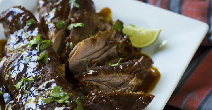 Slow Cooker Honey Lime Ginger Pork