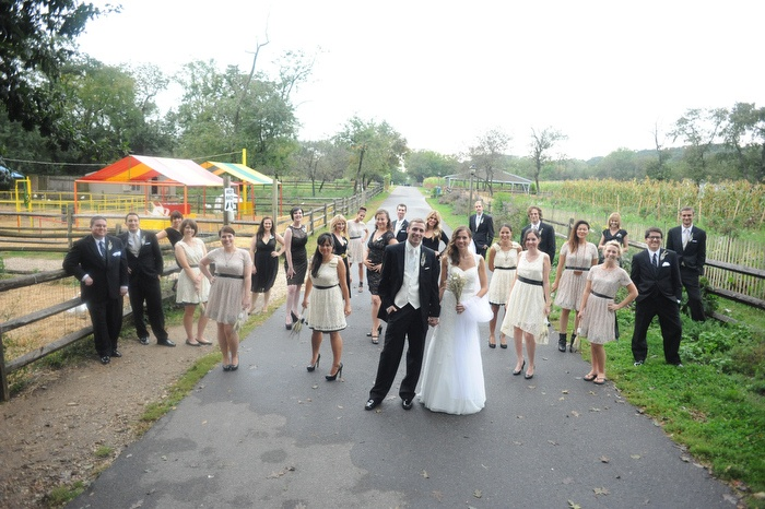Our Very Large Wedding Party On The Farm Queens County Museum Pinterest Photo Inspiration Weddings And