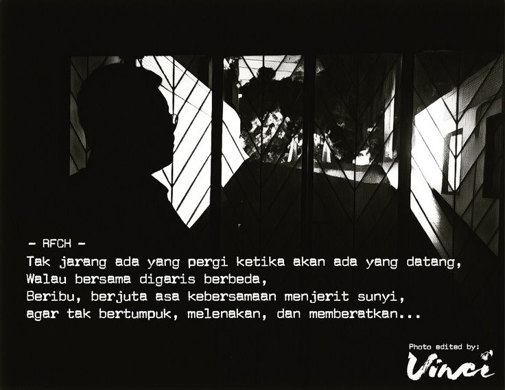 Jakarta, Puisi Monokrom l Hidup Untuk Hidup -RFCH-
