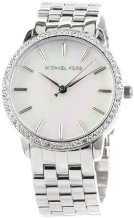 Michael Kors-mother of pearl watch