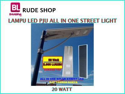 #jual #Lampu #LED PJU Tenaga Surya atau All In One Street Light 20 Watt harga #murah dan terjangkau