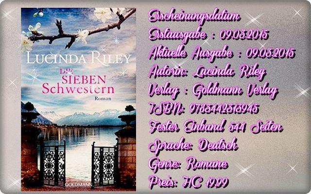 """Leserattes Bücherwelt: [Rezension] """"Die sieben Schwestern""""  Lucinda Riley..."""
