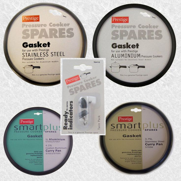 Prestige Pressure Cooker Spares Various Gaskets & Indicators Available