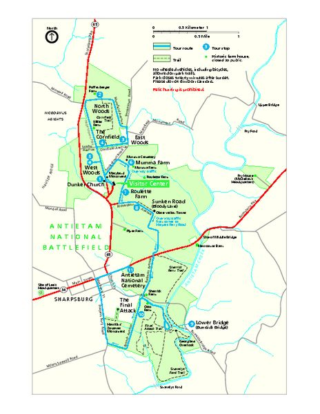 Best American Civil War BattlefieldsMaps Images On - Antietam on us map