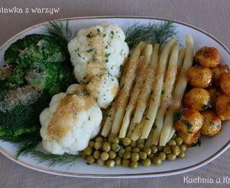 Przepis na warzywa na ciepło do obiadu - myTaste.pl