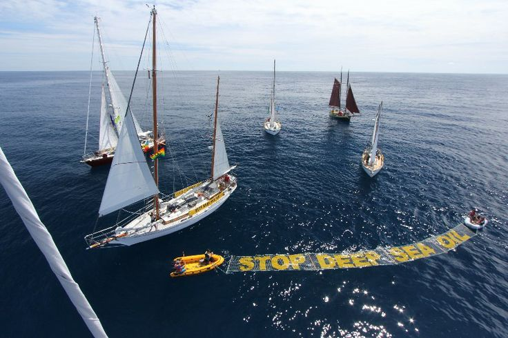 Act now to defend your right to say no to deep sea oil - Again   GREENPEACE New Zealand