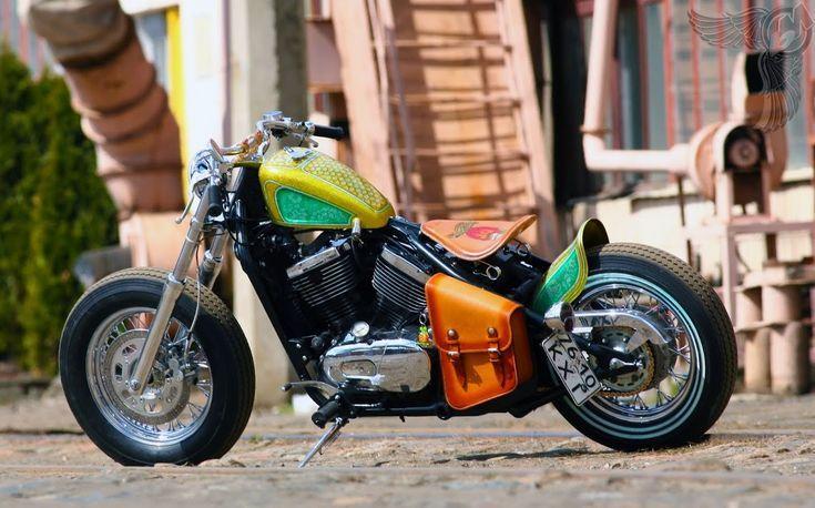 Visitez quotidiennement les motos et vêtements personnalisés. Motos Bobber Ins…
