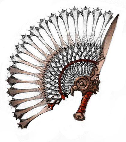 Боевой веер использовался как в открытом, так и в закрытом виде, а так же как щит против внезапной атаки.