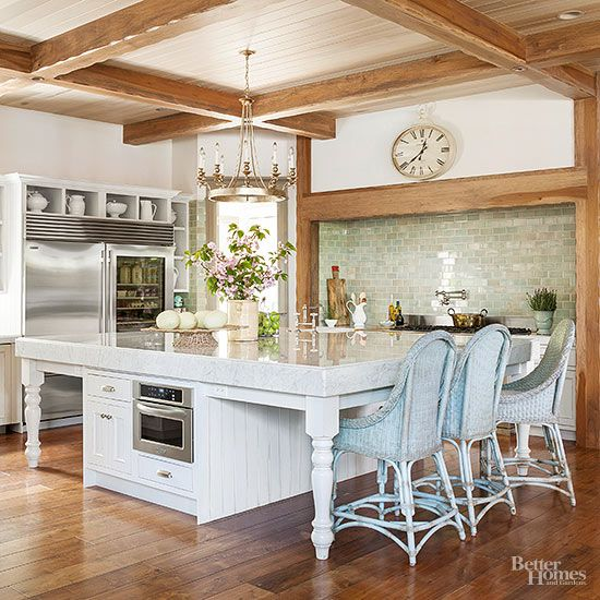 Create a sophisticated yet comfortable home with these French country decorating ideas that are inspired by rustic farmhouses and cottages in the French countryside. Learn the best ways to incorporate this decorating style into your kitchen, living room, bathroom, and bedroom decor. #frenchcountry #decoratingideas #frenchcountrydecorating #shabbychic