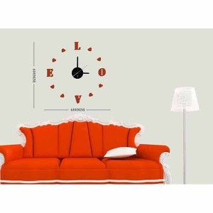 Comprar online Reloj Pared Adhesivo LOVE en Natural Smell