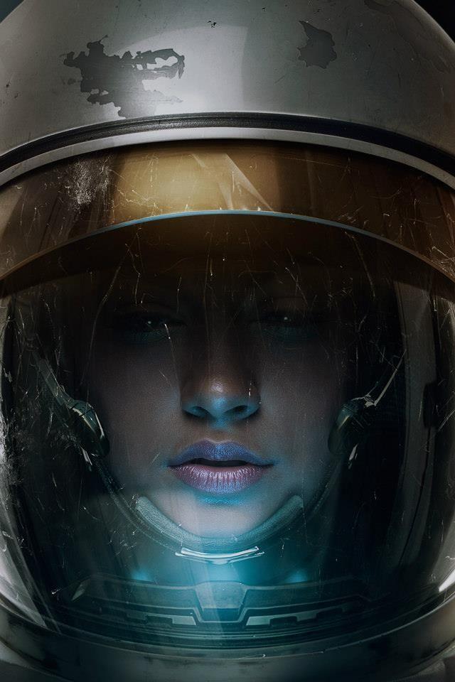 Astronaut...see more #sci-fi art at http://www.freecomputerdesktopwallpaper.com/wspacenine.shtml