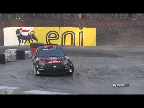 CESARE CREMONINI Rally Monza 2011 Abarth Grande Punto S2000