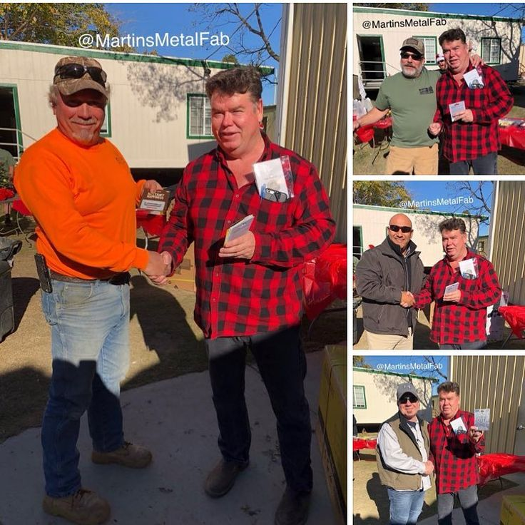 Martins Metal Fab 1st Annual Christmas Party was a HUGE SUCCESS!!! Good food and lots of GIVEAWAY prizes for ALL!!! Smokers BBQ tablet tools job-site radios coolers welding gear gift cards sweatshirts and more!!!! #metal #fabricate  #structural  #welding #sheetmetalfab #jobshop  #structuralsteel #fabricationlife  #structuralsteelfabrication #erectsteel #steelconstruction #construction  #machinist #sheetmetal #precision #machining #structuralfab  #structuralsteelfab  #fabricating…
