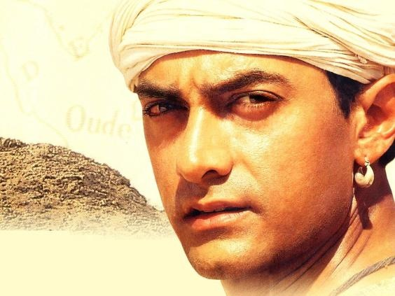 First crush: Aamir in Lagaan, the first Bollywood movie I ever saw!