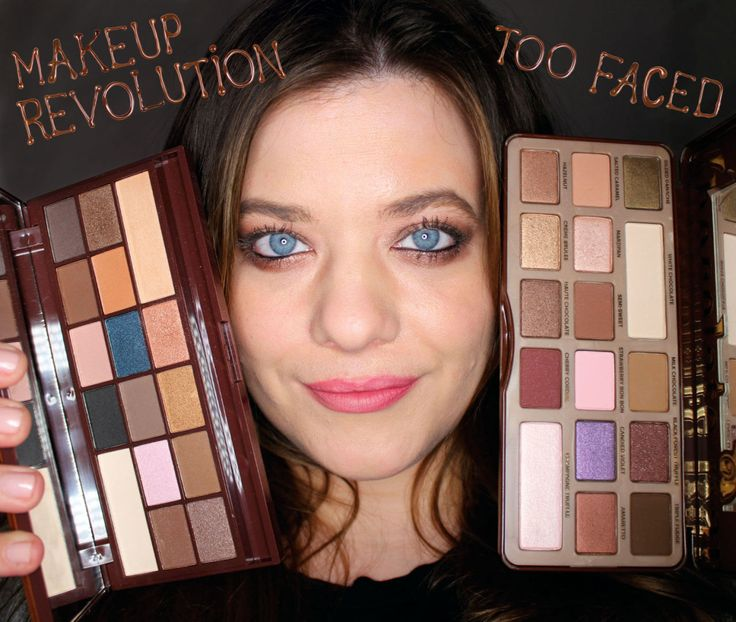 Chocolate eyeshadow palettes that Augustus Gloop would approve of