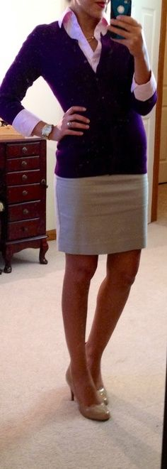 Lots of work outfit ideas! THE MOTHERLOAD! Love her outfits!