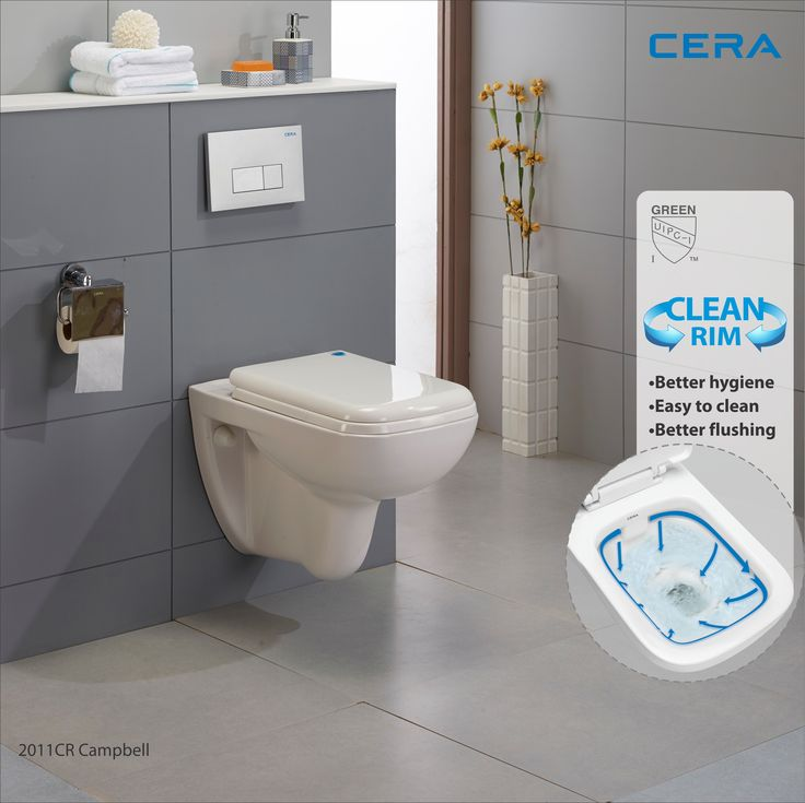 Give your personal space the much needed #style and #hygiene with #CERA 2011CR Campbell. #reflectsmystyle