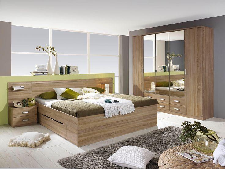 Marvelous rauch PACK S Schlafzimmer Set mit Kleiderschrank tlg